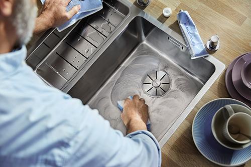 Rengjøring av Blanco kjøkkenvasker