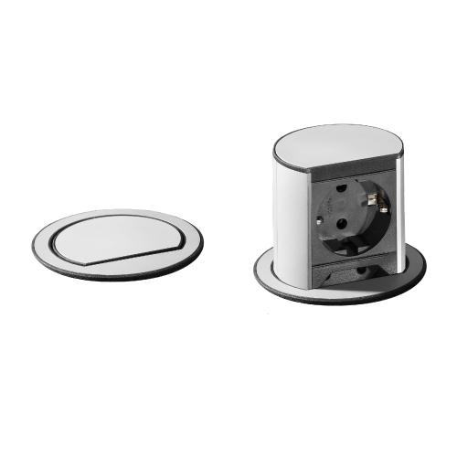 bachmann elevator el-søyle i rustfritt stålutseende