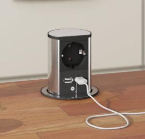 bachmann elevator, liten el-søyle som bygger kun 40 mm ned i benkeplaten
