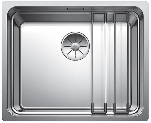 BLANCO ETAGON 500-U med profilkant for plassering av rist og skylleskål.