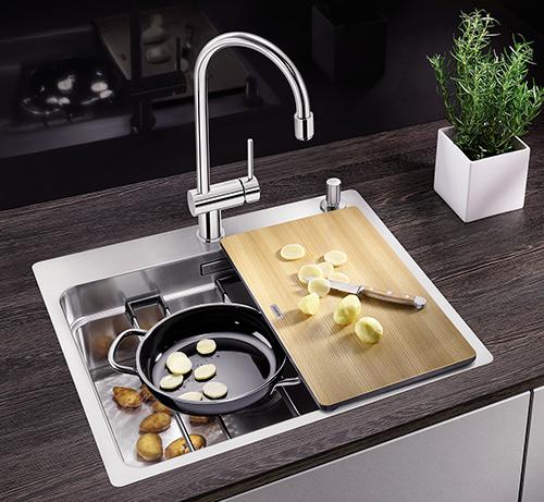 BLANCO ETAGON 500 IF/A - multifunksjonell kjøkkenvask - jobb i tre nivåer!