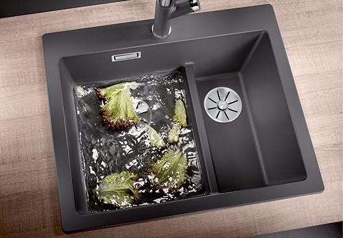 BLANCO PLEON 6 SPLIT, praktisk vask med 2-delt kum.