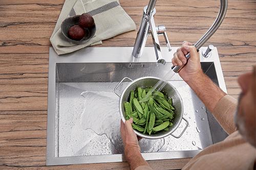 BLANCO ZEROX 700-IF/A kjøkkenvask i rustfritt stål.