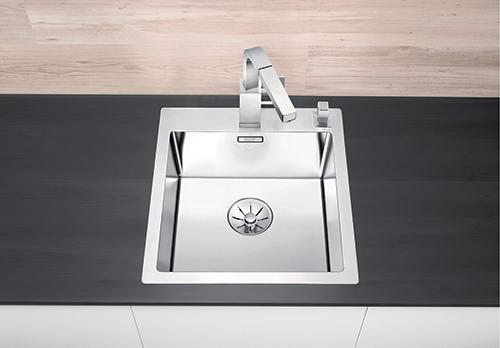 BLANCO CLARON 400-IF/A kjøkkenvask i rustfritt stål.