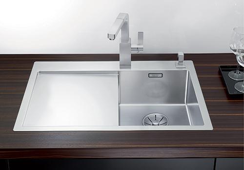 BLANCO CLARON 4S-IF kjøkkenvask i rustfritt stål.