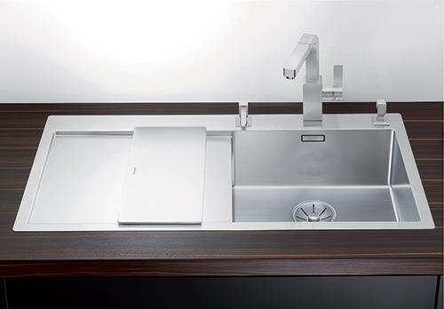 BLANCO CLARON 5S-IF kjøkkenvsk i rustfritt stål.
