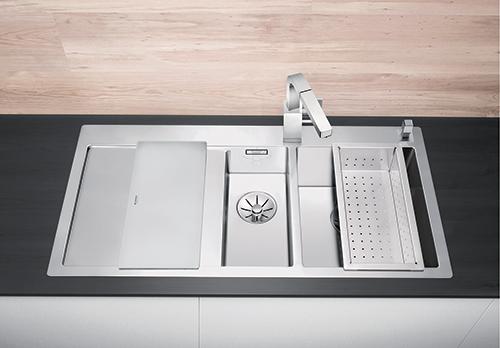 BLANCO CLARON 6S-IF kjøkkenvask i rustfritt stål.