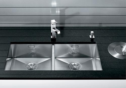 BLANCO ZEROX 400/400-U kjøkkenvask i rustfritt stål.