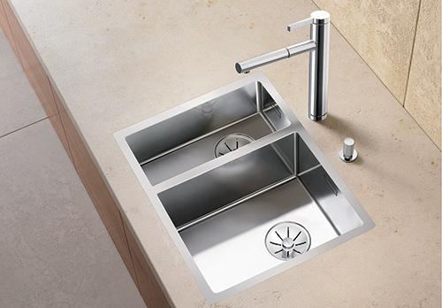 BLANCO 340/180-IF kjøkkenvask i rustfritt stål.