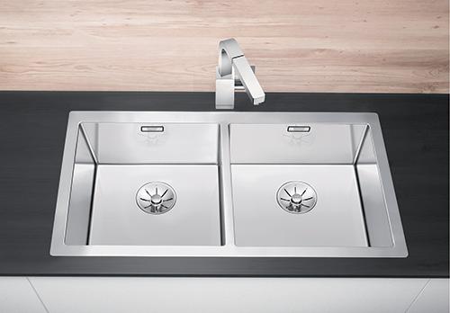 BLANCO CLARON 400/400-IF kjøkkenvask i rustfritt stål.