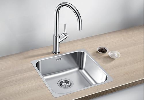 BLANCO SUPRA 400-IF kjøkkenvask i rustfritt stål.