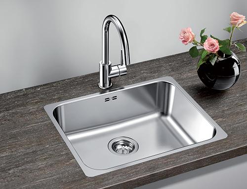BLANCO SUPRA 500-IF kjøkkenvask i rustfritt stål.