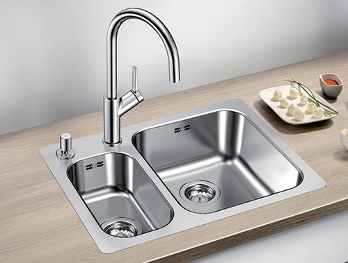 BLANCO SUPRA 340/180-IF kjøkkenvask i rustfritt stål med oppløft