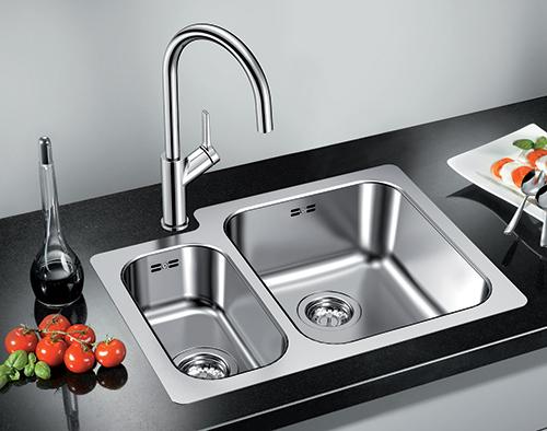 BLANCO SUPRA 340/180-IF kjøkkenvask i rustfritt stål.