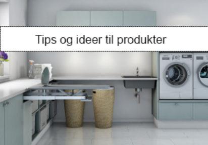 Vaskerommet – tips og ideer til produkter.