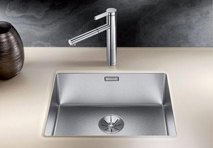 BLANCO CLARON DURINOX 500-U. Kjøkkenvask i rustfritt stål med ekstra hard overflate.