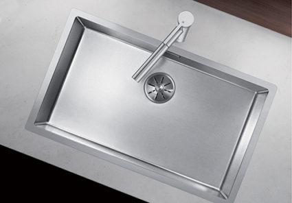 BLANCO CLARON DURINOX 700-IF. Kjøkkenvask i rustfritt stål med ekstra hard overflate.