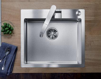 BLANCO CLARON DURINOX 500-IF/A. Kjøkkenvask i rustfritt stål med ekstra hard overflate.