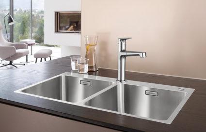 BLANCO ANDANO 340/340-IF/A kjøkkenvask i rustfritt stål.