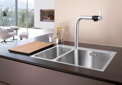BLANCO ANDANO 340/180-IF/A kjøkkenvask i rustfritt stål.