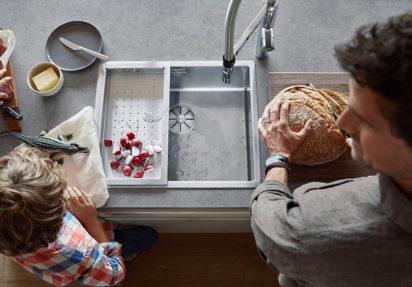 Våtsonen er kjøkkenets viktigste arbeidsstasjon.