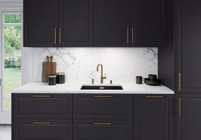 Sort kjøkken – sort kjøkkenvask