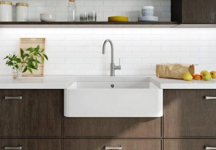 BLANCO VILLAE Farmhouse single. Kjøkkenvask i porselen med landstil design.