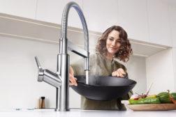 Høyere effektivitet på kjøkkenet med BLANCOs smarte blandebatterier